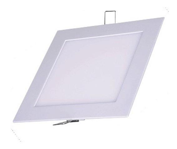 Painel Plafon Luminaria Teto Embutir Quadrado Led 24w Gesso