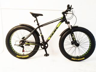 Bicicleta Sbk Fat Patona Rodado 26 Arenera, Barro, Nieve