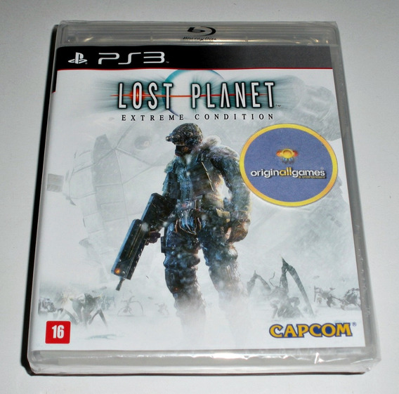 Lost Planet Extreme Condition ¦ Jogo Ps3 Orig Lacr ¦ M Físic