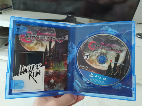 Bloodstained Curse Of The Moon Ps4 Físico