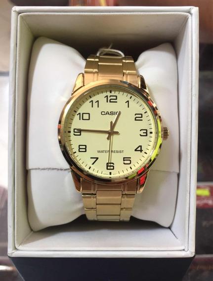 Reloj Casio Dorado Original
