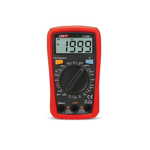 Multimetro Digital Uni-t Tester Ut33b+ Luz Pocket Profesion