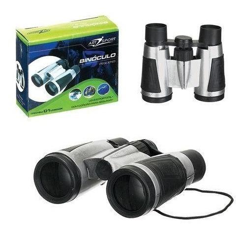 Kit 20 Binóculos Infantil + 20 Lupa 50mm + 20 Mini Lanterna