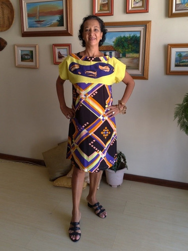 Vestido Feminino Tecido Curto Rochane