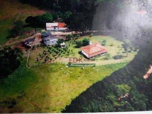 Imagem 1 de 16 de Sítio Com 4 Dormitórios À Venda, 84700 M² Por R$ 930.000,00 - Chácara Itapoã - Jacareí/sp - Si0226
