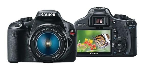 Kit Canon T2i + Lente 18-55m + Cartões + Baterias