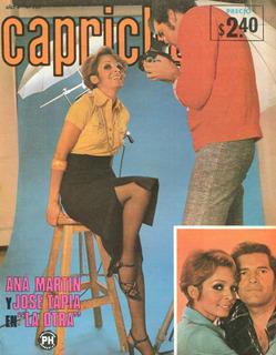 Capricho. Fotonovela De 1975. Ana Martin