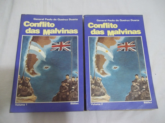 Conflito Das Malvinas - 2 Vol - General Paulo Queiros Duarte