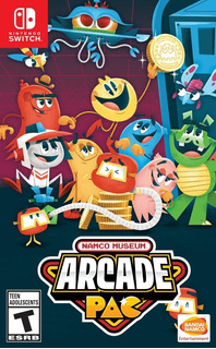 Namco Museum Arcade Pac - N Switch -juego Fisico - Inmediato