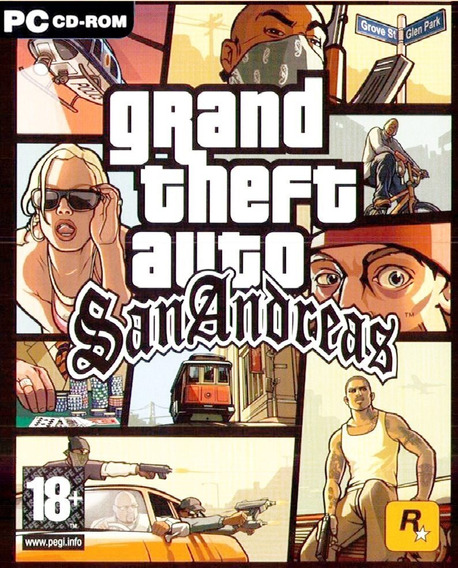 Gta San Andreas Pc (mídia Física)