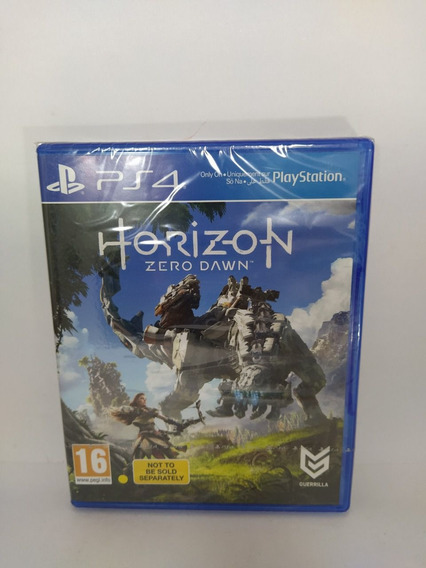 Jogo Horizon Zero Dawn Ps4 Novo