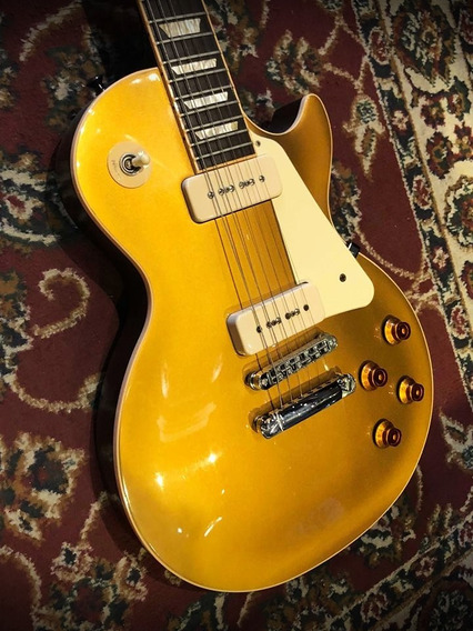 Gibson 2011 Lp Traditional Pro Gold Top Coil Tapped P90