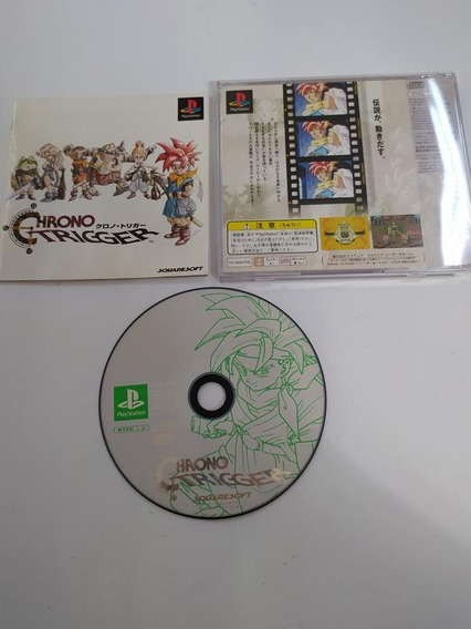 Chrono Trigger - Ps1 - Playstation 1 - Completo