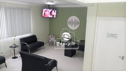 Sobrado Com 1 Dormitório À Venda, 177 M² Por R$ 858.500,00 - Vila Assunção - Santo André/sp - So3294