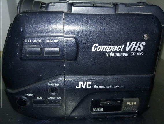 Filmadora Jvc Videomove Compact Vhs
