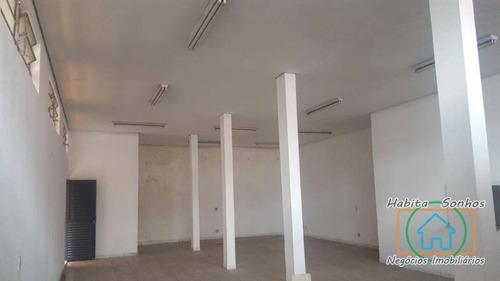 Salão Comercial Para Locação, Altos De Jordanésia (jordanésia), Cajamar. - Sl0010