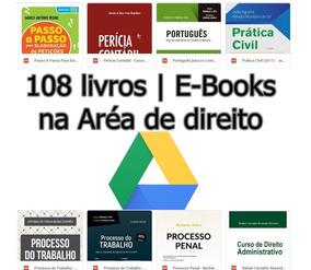 Lote De Livros De Direito| 108 Livros | Google Drive