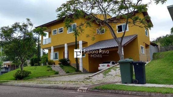 Casa Com 4 Dormitórios À Venda, 375 M² Por R$ 1.150.000 - Reserva Ibirapitanga - Santa Isabel/sp - Ca0037
