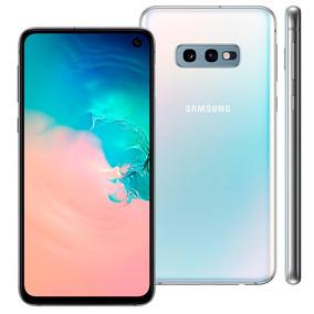 Smartphone Samsung Galaxy S10e, Bco, 5,8 128gb, 12mp+16mp