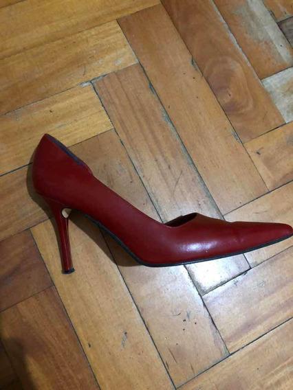 Stilettos Rojos Talle 39