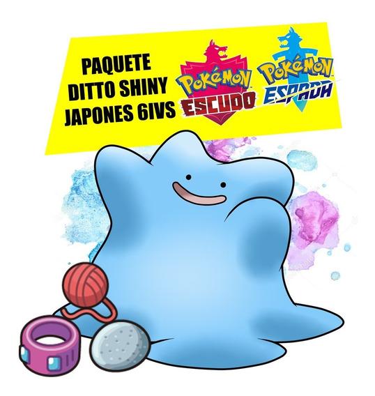 Paquete Ditto Shiny Japones (pokemon Espada/escudo)