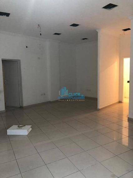 Loja Para Alugar, 65 M² Por R$ 2.800/mês - Ponta Da Praia - Santos/sp - Lo0071