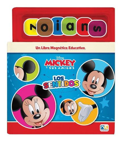 Mickey Y Sus Amigos Mini Libro Magnetico Los Sentidos