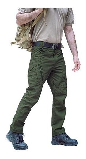 Pantalon Tactico Militar Policia Impermeable Ribstop. Ix9