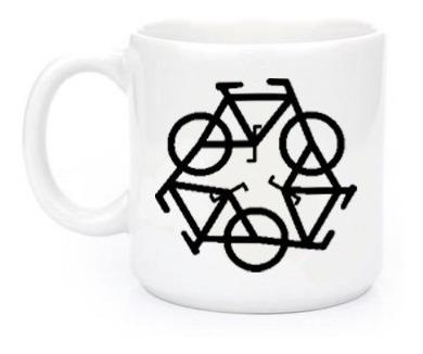 Canecas Engraçadas Bicicleta 1322