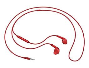 Fone Estéreo In Ear Fit Original Samsung C/ Controle - Verm.