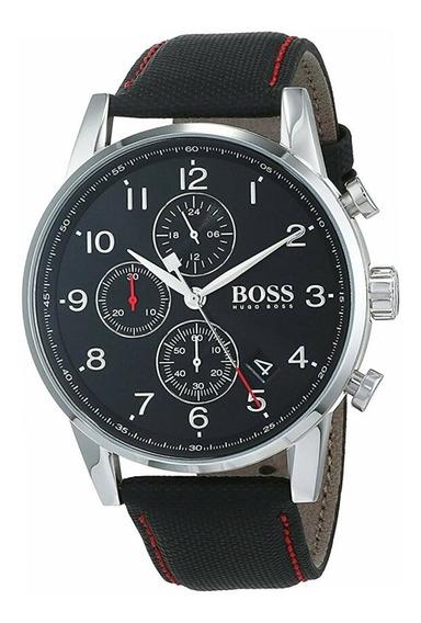 Relógio Masculino Hugo Boss Navigator 1513535 Completo