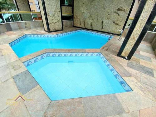 Imagem 1 de 25 de Apartamento Com 2 Dormitórios À Venda, 70 M² Por R$ 290.000,00 - Tupi - Praia Grande/sp - Ap2334