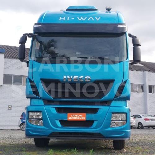 Imagem 1 de 10 de Iveco Hi Way 600s44t, Ano 2018/2019
