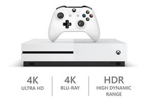 Xbox One S 1tb - 4k - Hdr - Novo - Bi-volt - 12x Sem Juros