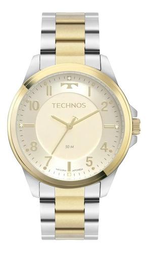 Relógio Technos Feminino Dress Misto Original Nf 2035msz/1x