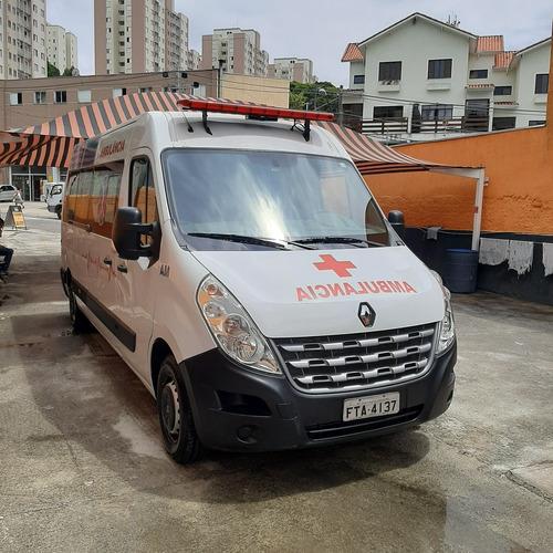 Master L3h2 Ano 2018 Ambulancia Teto Alto Completa