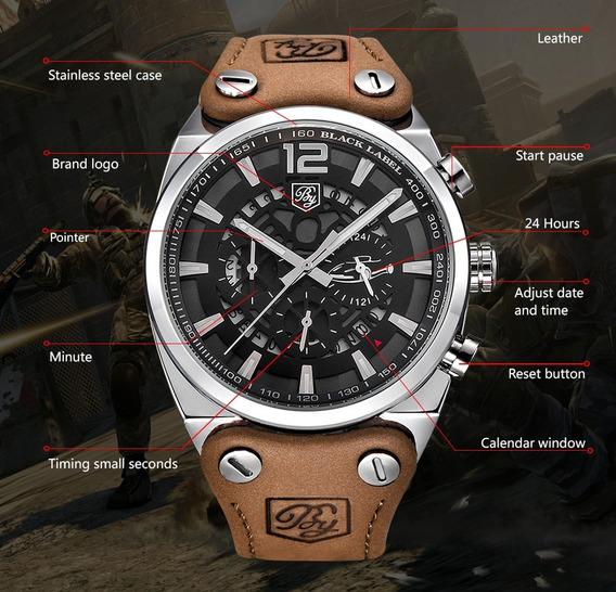 Wear Watch Relógio Benyar Masculino Cronógrafo Funcional