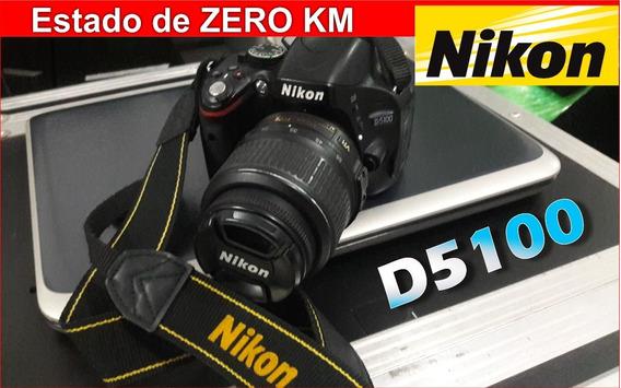 Camera Fotografica Nikon D5100 Câmera Fotográfica Nikon