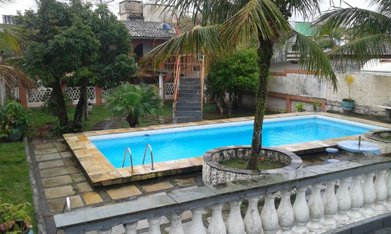 Troca P/ Itanhaém- Centro Prx Aquário Casa 6dor-terreno 750m