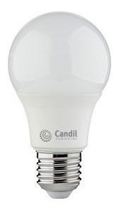 Pack X 10 Lámparas Led E27 9w. Blanco Cálido