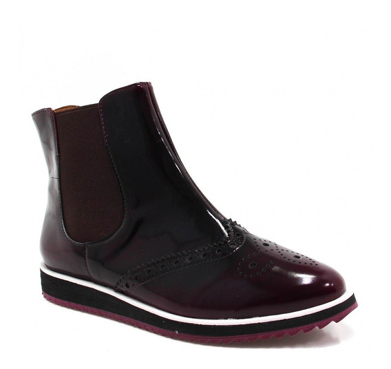 Bota Zariff Shoes Oxford Flatform Chelsea 2129