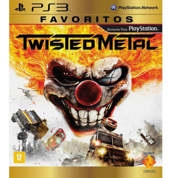 Twisted Metal Ps3 Via Psn Original