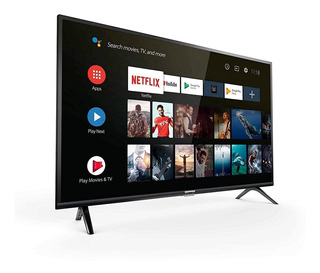 Smart Tv 32 Tcl Google Assistant Negro