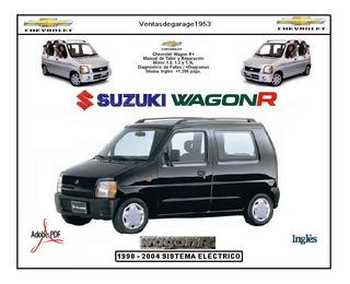 Manual Taller Reparación Chevrolet Wagon R Diagrama Elect