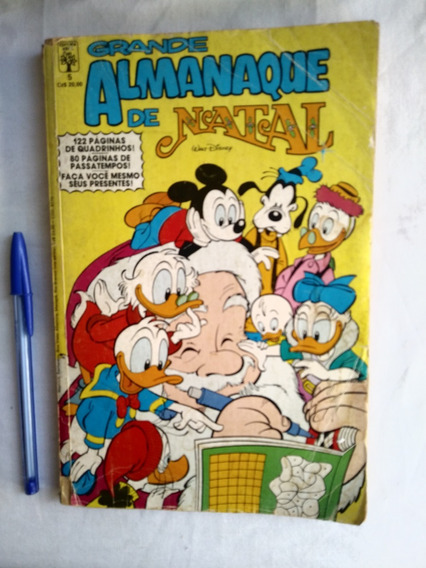 Gibi Hq Grande Almanaque De Natal Nº 5 Disney Nov 1986