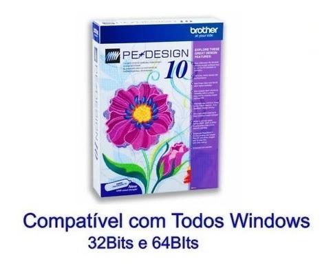 Pe Design 10 Software De Bordados Brother