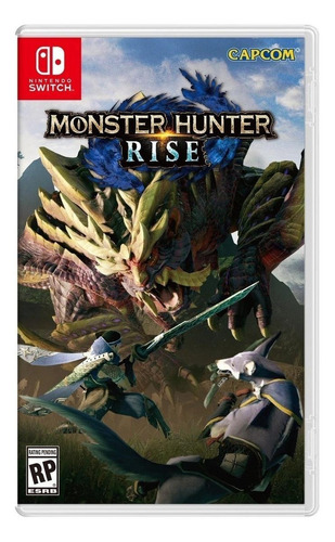 Monster Hunter Rise Standard Edition Capcom Nintendo Switch Físico
