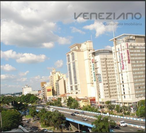 Apartamento Com 1 Dormitório À Venda, 35 M² Por R$ 100.000,00 - Centro - Campinas/sp - Ap0421