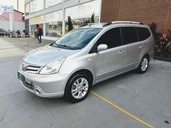Nissan Grand Livina 2014 1.8 Sl Flex Automático 7 Lugares