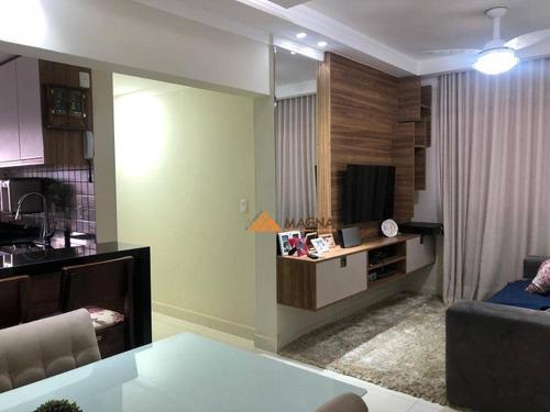 Apartamento À Venda, 62 M² Por R$ 255.000,00 - Sumarezinho - Ribeirão Preto/sp - Ap4196